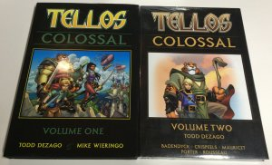 Tellos Colossal Volume Vol 1 2 Nm Near Mint HC Hardcover Oversized Image Comics