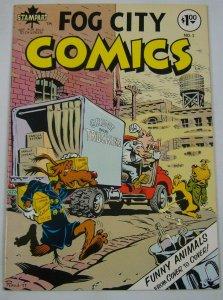 Fog City Comics #1 FN/VF (1st) metzger RAND HOLMES underground funny animals