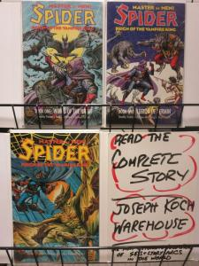 SPIDER REIGN OF THE VAMPIRE KING (1992 EC)1-3