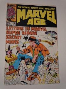 Marvel Age #20 (1984)