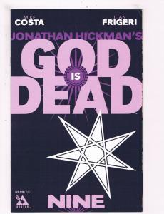 God Is Dead # 9 VF Avatar Press Comic Book 1st Print Hickman Frigeri Series S64