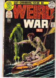 Weird War Tales #3 (Feb-71) FN- Mid-Grade