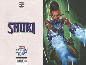 Shuri #8 Battle Lines Variant (Marvel, 2019) NM