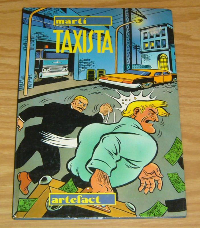 Taxista HC VF/NM french language hardcover MARTI artefact foreign import