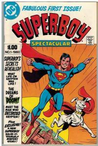 SUPERBOY SPECTACULAR (1980) 1 VF