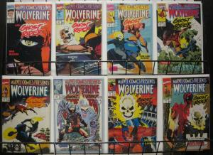MARVEL COMICS PRESENTS 64-71 Wolverine & Ghost Rider