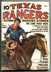 Texas Rangers Pulp #1 1936- 1st Jim Hatfield- LONE WOLF RIDES