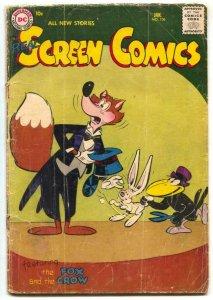 Real Screen Comics #106 1957- Fox & Crow FR