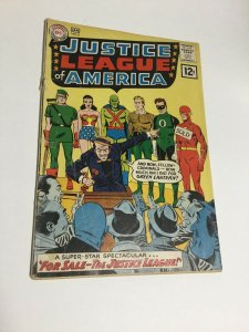 Justice League Of America 8 Gd+ Good+ 2.5 Top Staple Detached DC Silver Age