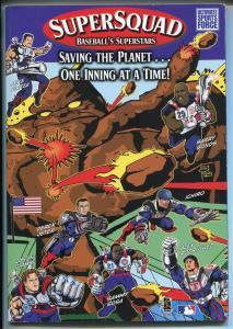 SUPER SQUAD #1 2002-TRIUMPH BOOLS-BASEBALL SUPER HEROES-JETER-SOSA-GIAMBI-fn
