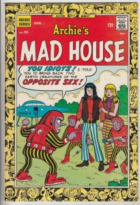 Archie's Mad House #55 (Aug-67) VF/NM High-Grade Sabrina The Teenage With