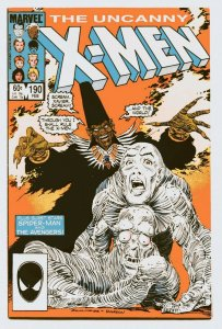 Uncanny X-Men 190 VF+ 8.5 Marvel 1985 Uncertified FREE SHIP