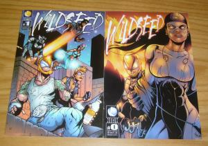 Wildseed vol. 2 #0 & 1 VF/NM complete series - kiah comics - wild seed set lot