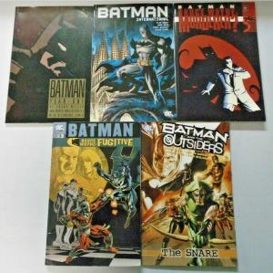 Batman TPB Trade Paperback lot 5 different books condition N/A (years vary)