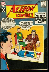 ACTION COMICS #281-SUPERMAN ON KRYPTON-SUPERGIRL 1961 VG/FN