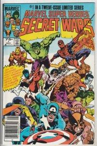 Marvel Super Heroes Secret Wars #1 (May-84) NM/NM- High-Grade