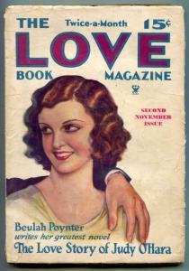 Twice-A-Month Love Book Magazine Pulp #1 1933- RARE