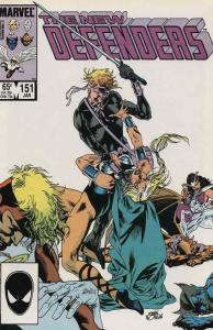 Defenders, The #151 VF/NM; Marvel   save on shipping - details inside