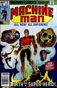 Machine Man #10 (1979)
