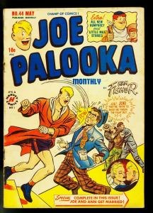 Joe Palooka #44 1950- Harvey Comics- Ham Fisher- Boxing- VG