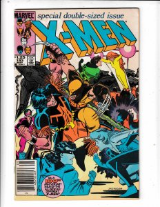 THE UNCANNY X-MEN#193 VF/FN   NO RESERVE Save on shipping