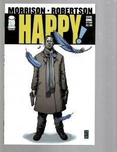 12 Image Comics Happy #1 2 3 4 Xenoholics #1 2 3 4 5 Revival #1 2 3  J446