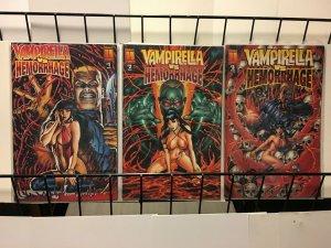 VAMPIRELLA VS HEMORRHAGE (1997 H) 1B,2-3  The Red Death