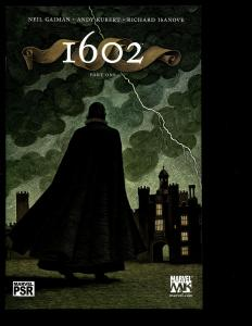 Lot Of 8 1602 Marvel Comics # 1 2 3 4 5 6 7 8 Avengers Alternate History SM2