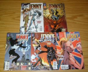 Jenny Sparks #1-5 VF/NM complete series - the authority spinoff by mark millar