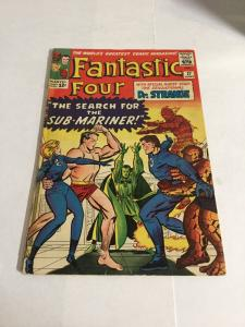 Fantastic Four 27 Vg/Fn Very Good/Fine 5.0 Tape On Spine Marvel Silver Age
