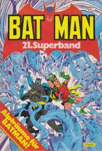 Batman Superband #21 FN; Ehapa | save on shipping - details inside