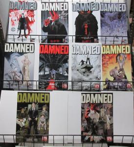 Damned (Oni Press 2017) #1-10 Cullen Bunn Brian Hurtt Bill Crabtree Horror Noir