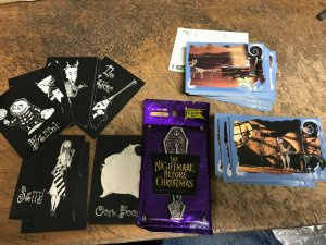 The Nightmare Before Christmas Trading Cards 90 Cards 1993 Skybox +Japanese pack