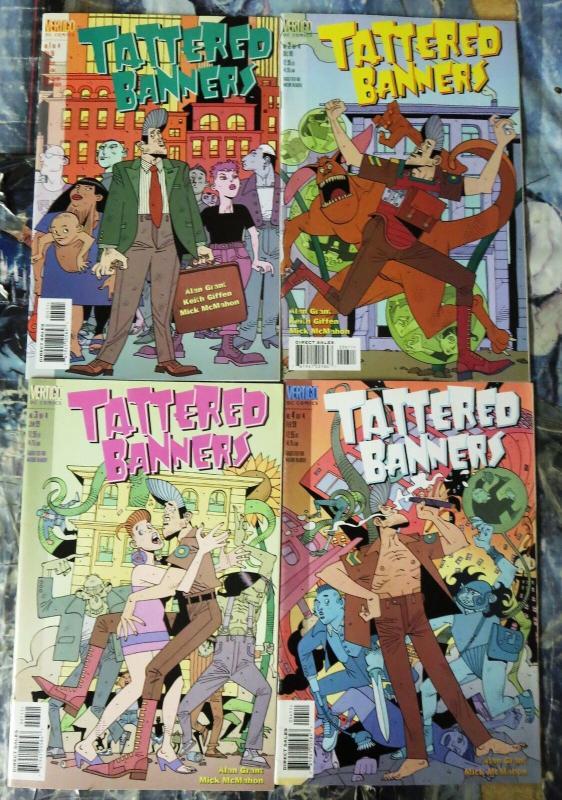 TATTERED BANNERS (1998 VERTIGO) 1-4 Grant/McMahon