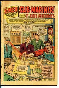 X-Men #6 1964-Marvel-Sub-mariner-Jack Kirby art-P