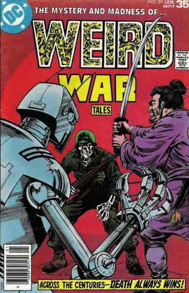 Weird War Tales #59 FN; DC | save on shipping - details inside