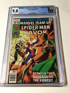 Marvel Team-up 69 Cgc 9.8 White Pages Spider-man Havok