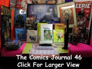 COMICS JOURNAL  46 -47 Eisner Interviews 1979