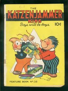 KATZENJAMMER KIDS-FEATURE BOOK #35 1945 VG-