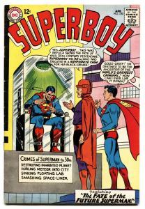 SUPERBOY #120 1965-DC COMICS-SUPERMAN-KRYPTONITE vg/FN