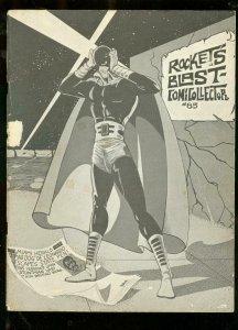 ROCKET'S BLAST AND COMICOLLECTOR FANZINE #85-GB LOVE-   VG