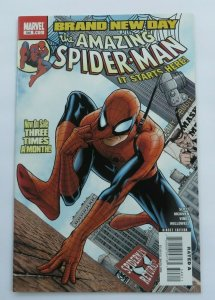 Amazing Spider-Man #546 VF/NM Key Issue 1st App. Jackpot Mr Negative Marvel 2008