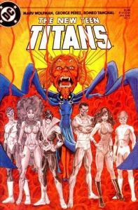New Teen Titans (1984 series) #4, NM- (Stock photo)