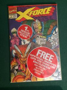 X-force #1 MISP brand New with collector card collector's edition