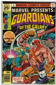 MARVEL PRESENTS 6 F-VF Aug. 1976 Guardians