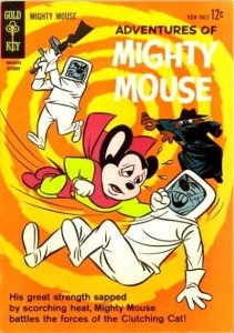 Adventures of Mighty Mouse (1955 series) #160, Fine (Stock photo)