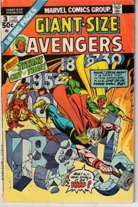 Giant Size Avengers # 3 And One Shall Die!