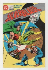 SILVERBLADE #2, NM, Bates, Colan, Mitchell,  DC, 1987 more DC in store