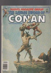 Savage Sword of Conan #66 (Marvel, 1981)