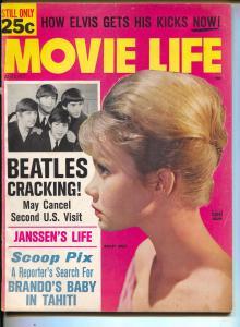 Movie Life-Beatles-Hayley Mills-Marlon Brando-John Gavin-Aug-1964